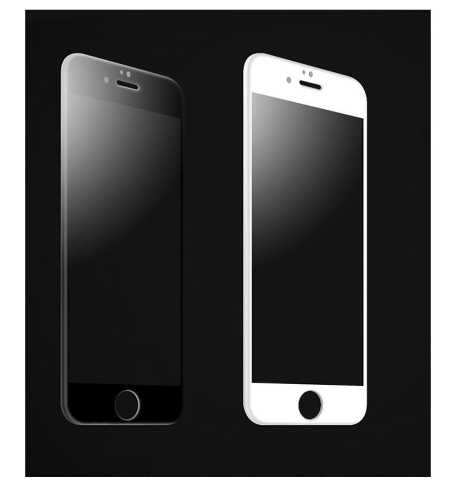 film de protection 3d en verre tremp pour iphone 6 iphone 6s. Black Bedroom Furniture Sets. Home Design Ideas